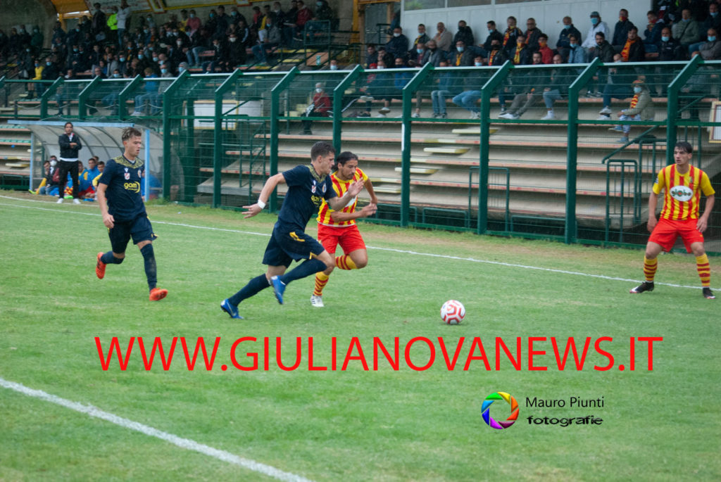 Giulianova. Calcio: Real Giulianova-Vastogirardi 0-2.