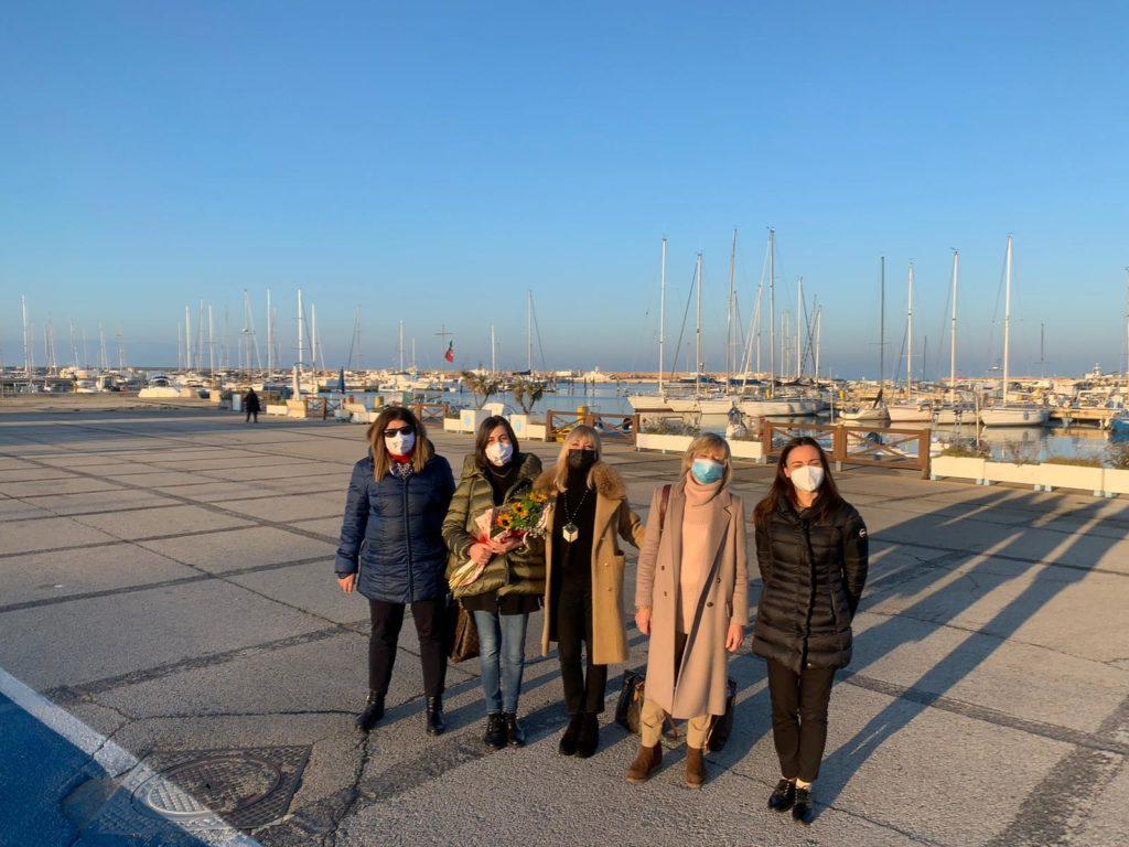 Le Commissioni Pari Opportunità della Provincia di Teramo e del Comune di Giulianova augurano buon lavoro alla neo componente del Cda dell'Ente Porto, Monica Tentarelli