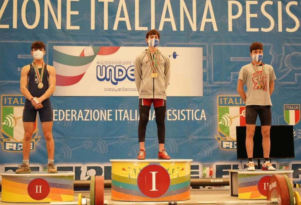 """Il """"nostro"""" Gioxe Narcisi Campione italiano under 17 di Pesistica Olimpica"""