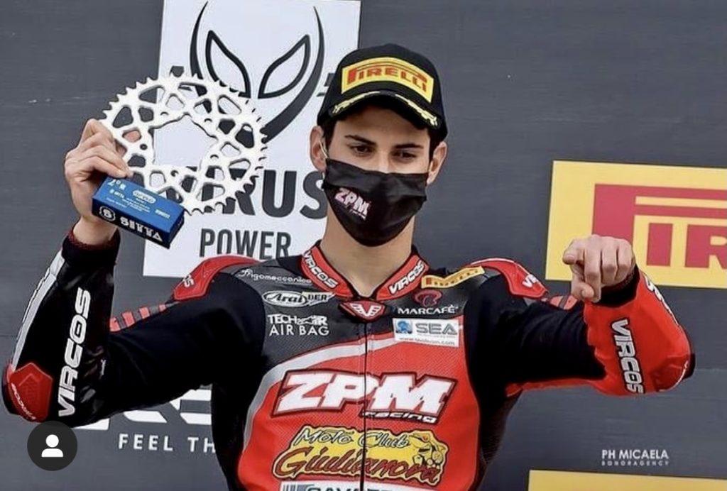 Giulianova. Pirelli National Trophy 2021: il nostro Matteo Ciprietti si piazza al secondo posto