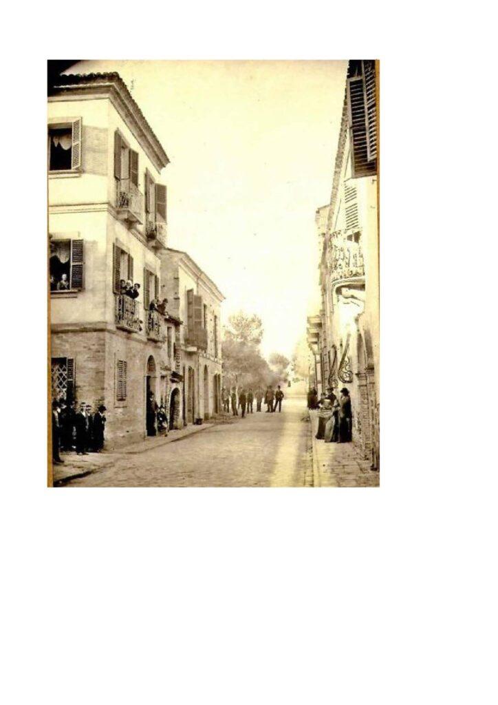 GIULIANOVA. LAVORI SUL CORSO. DALL'IMBRECCIATURA ALLA PAVIMENTAZIONE (1839-1871)