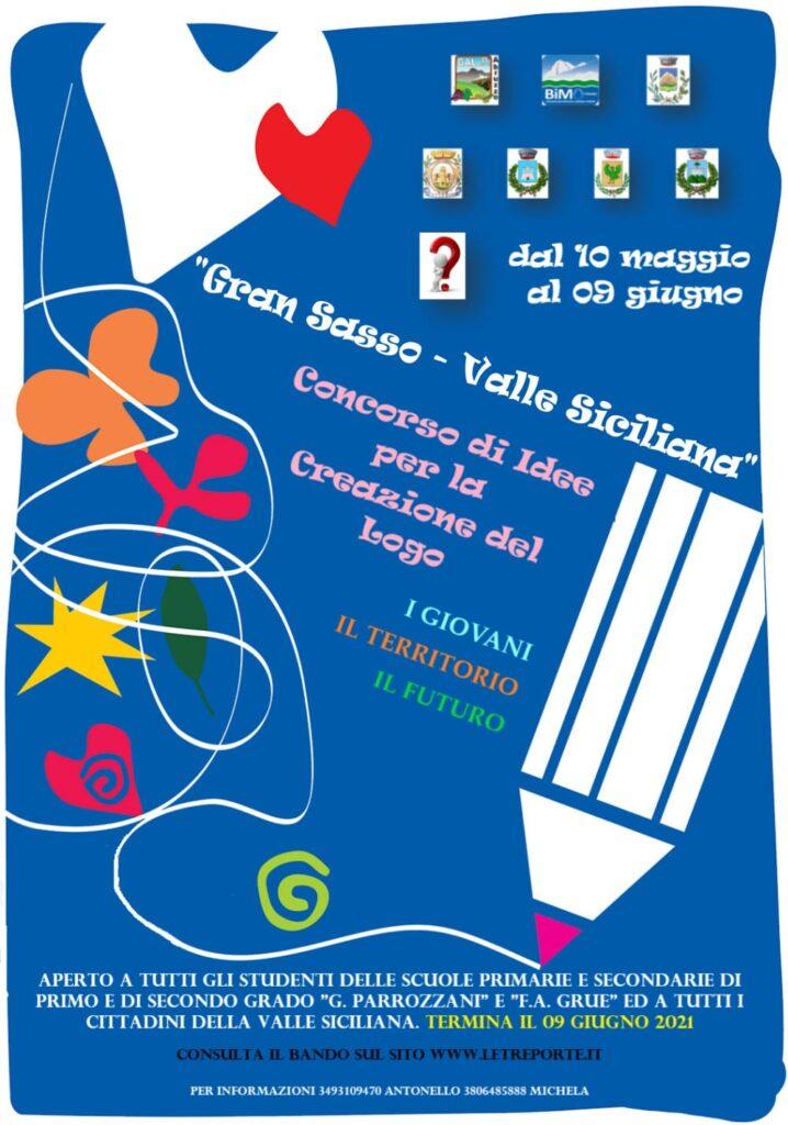 """Al via il Concorso di idee per la creazione del logo """"Gran Sasso-Valle Siciliana"""""""