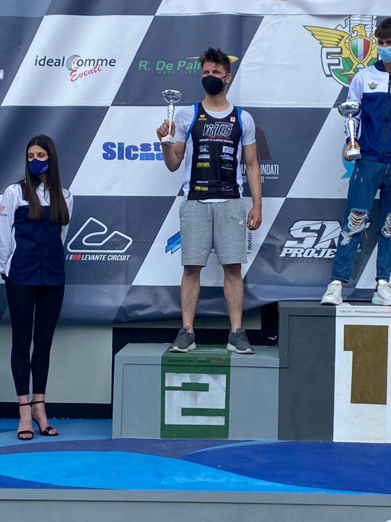 Pescara. Week-end di fuoco per il Virtus Racing Team: D'Annunzio secondo, Rasetta in Finale e Micolucci in rimonta