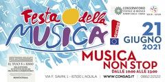 """La Festa della Musica al Conservatorio dell'Aquila si apre con la premiazione dei vincitori del Concorso """"Premio A. Casella"""""""
