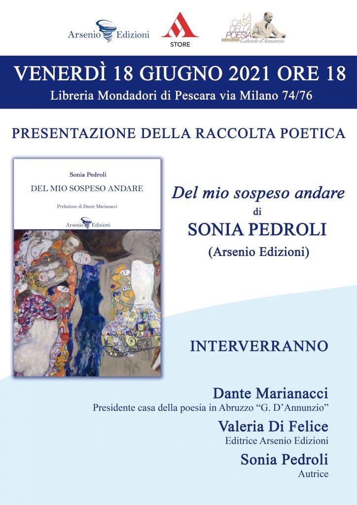 Sonia Pedroli presenta il suo libro alla Mondadori di Pescara