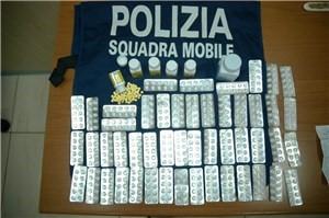 ALBA ADRIATICA. POLIZIA SEQUESTRA SOSTANZE DOPANTI