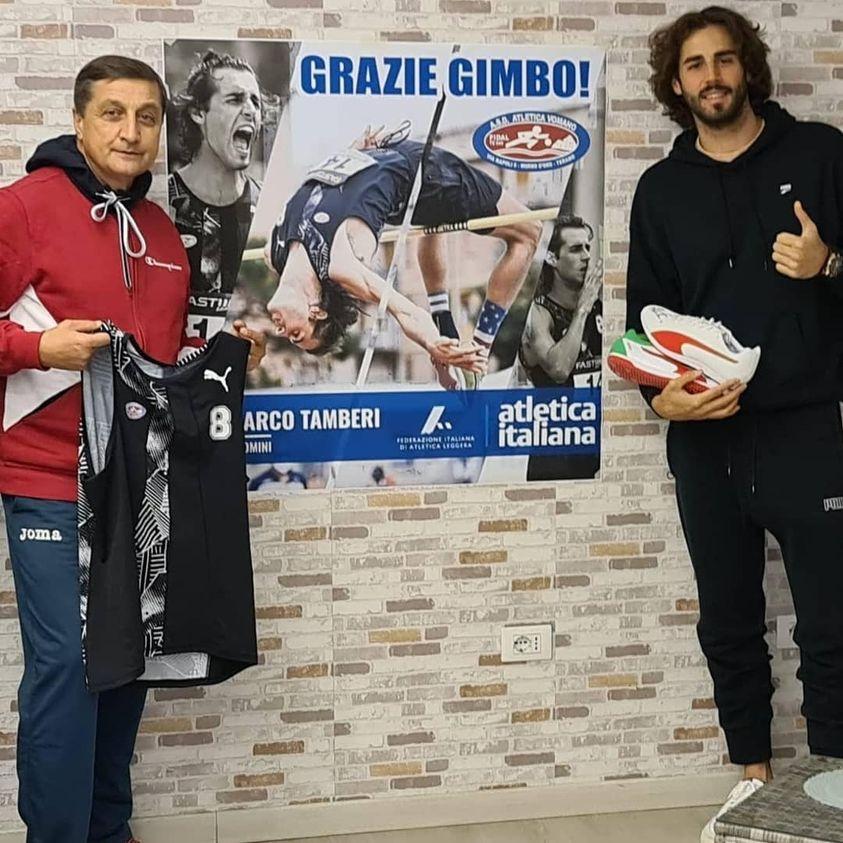 Gianmarco e Marco Tamberi, orgoglio dell'Atletica Vomano