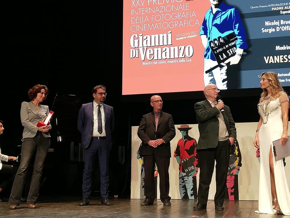 Teramo. A Carlo Di Palma l'Esposimetro d'oro alla Memoria. Un autentico maestro, iniziò come aiutante di Gianni Di Venanzo
