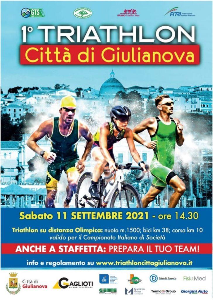 """Presentazione """"1° Triathlon – Città di Giulianova"""": convocata una conferenza stampa per giovedì, 9 Settembre, alle 12, in sala consiliare."""