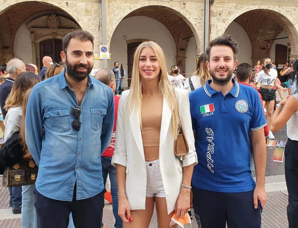 Campli, a BorGo Sport entusiasmo alle stelle per Gaia Sabbatini