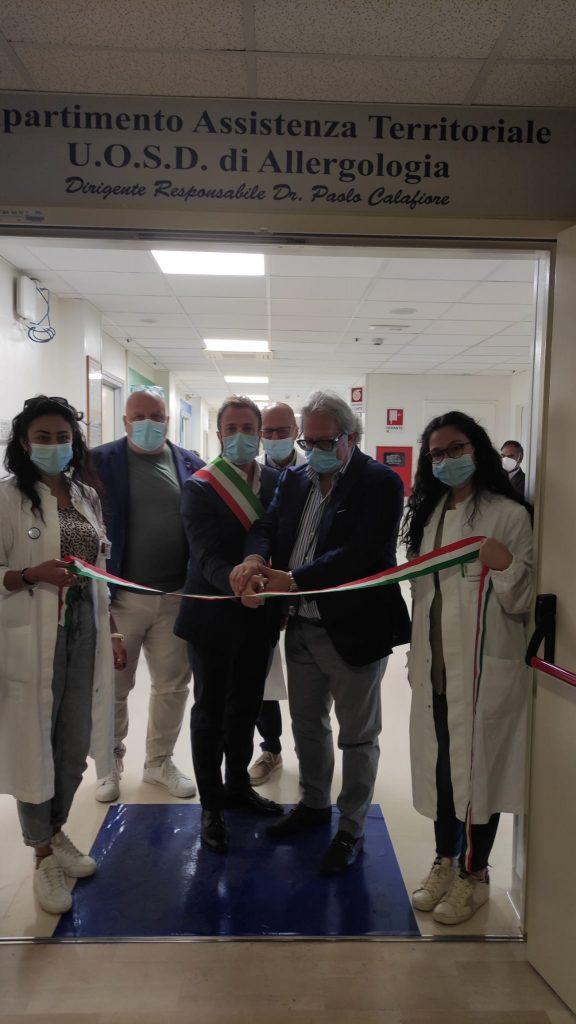 """Giulianova. Ospedale """"Maria SS dello Splendore"""": inaugurati questa mattina i nuovi Reparti di Allergologia e Diabetologia."""