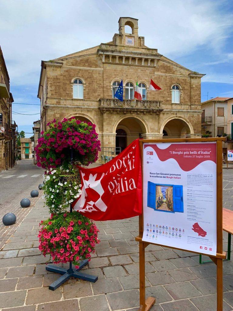 """A Rocca San Giovanni l'Assemblea dell'Associazione """"I Borghi più belli d'Italia in Abruzzo e Molise"""""""