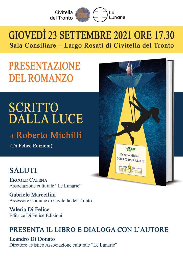 Roberto Michilli presenta il suo nuovo romanzo a Civitella del Tronto