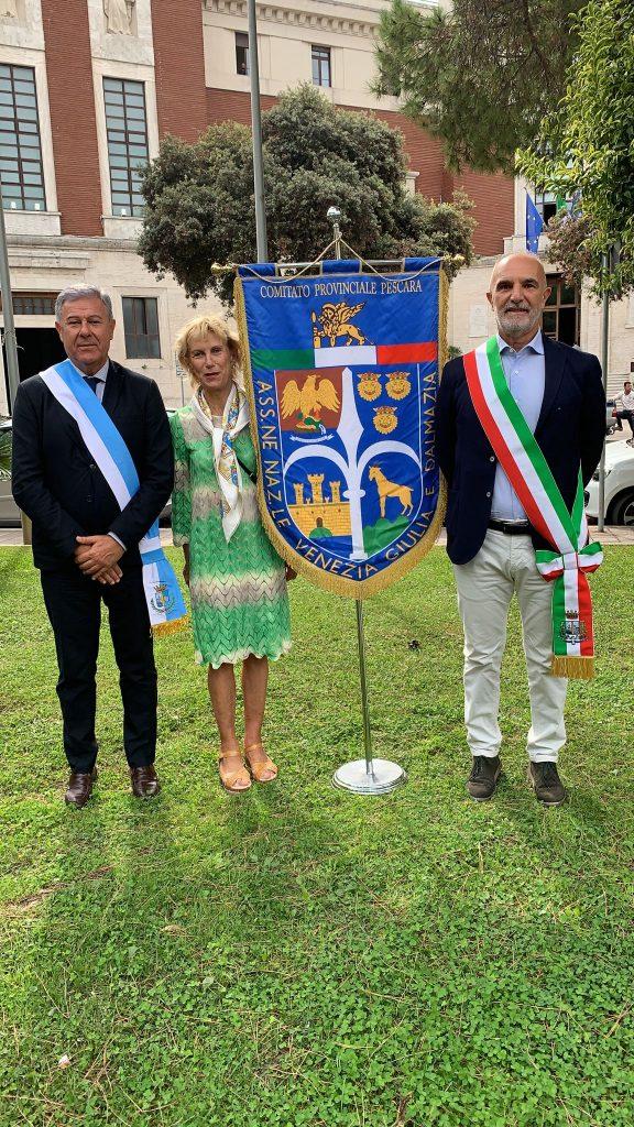 Pescara. L'Amministrazione comunale ha reso omaggio alla memoria di Norma Cossetto (1920-1943)