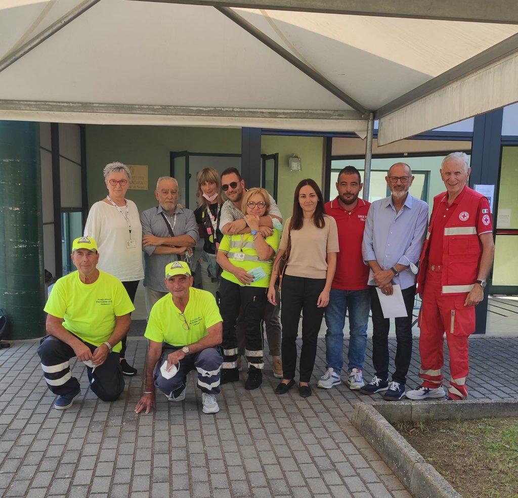 """Giulianova. 30 Settembre: il centro vaccinale """"I Pioppi"""" chiude i battenti. 54.301 dosi somministrate in 7 mesi di attività."""