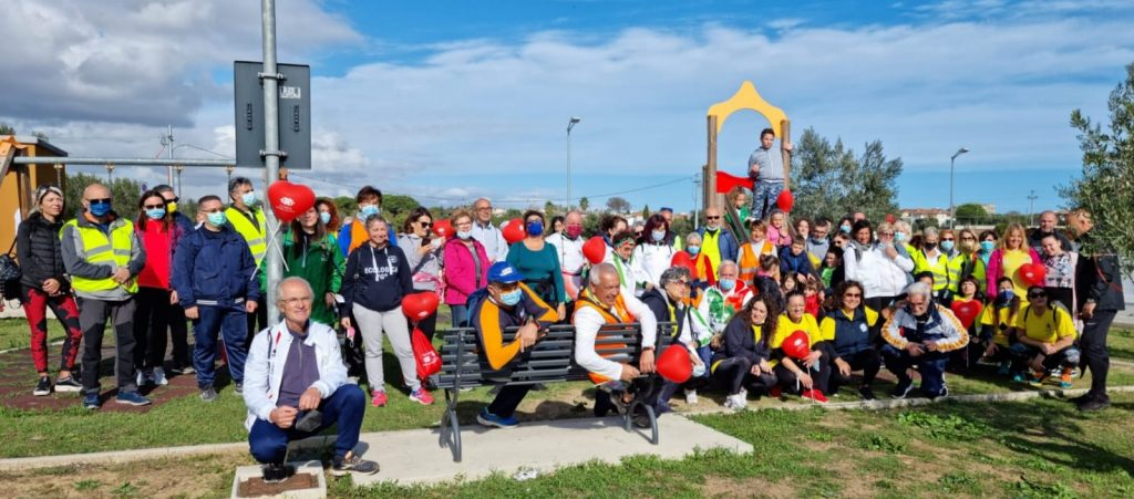 Giulianova. 3° Passeggiata del Donatore organizzata dalla Fidas C.U.O.R.E.