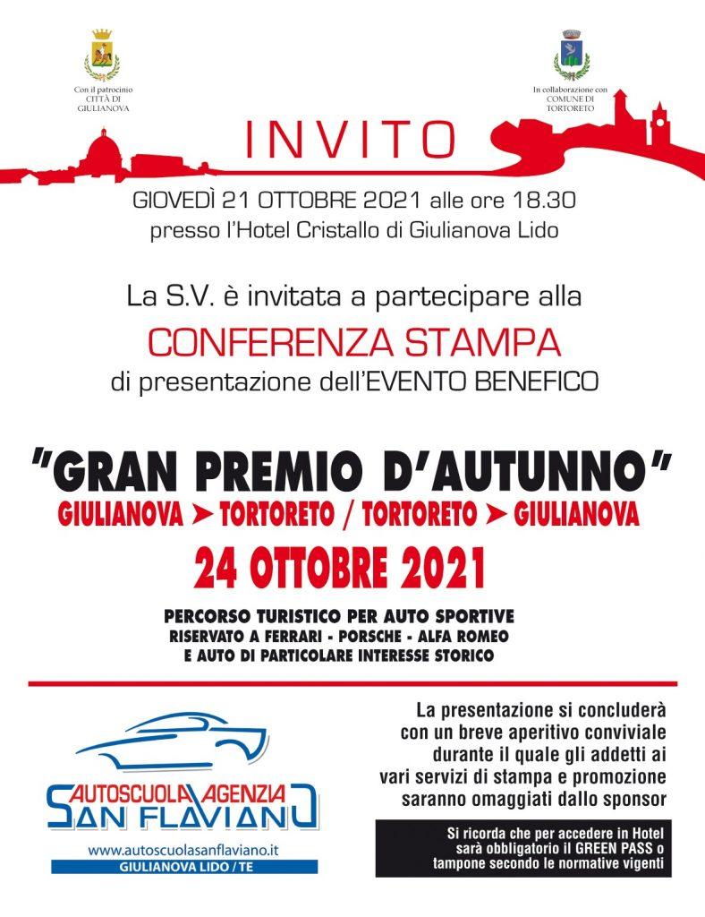 Presentazione del Gran Premio d'Autunno a Giulianova